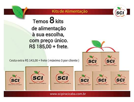 SCI E KIT DE CESTA BASICA