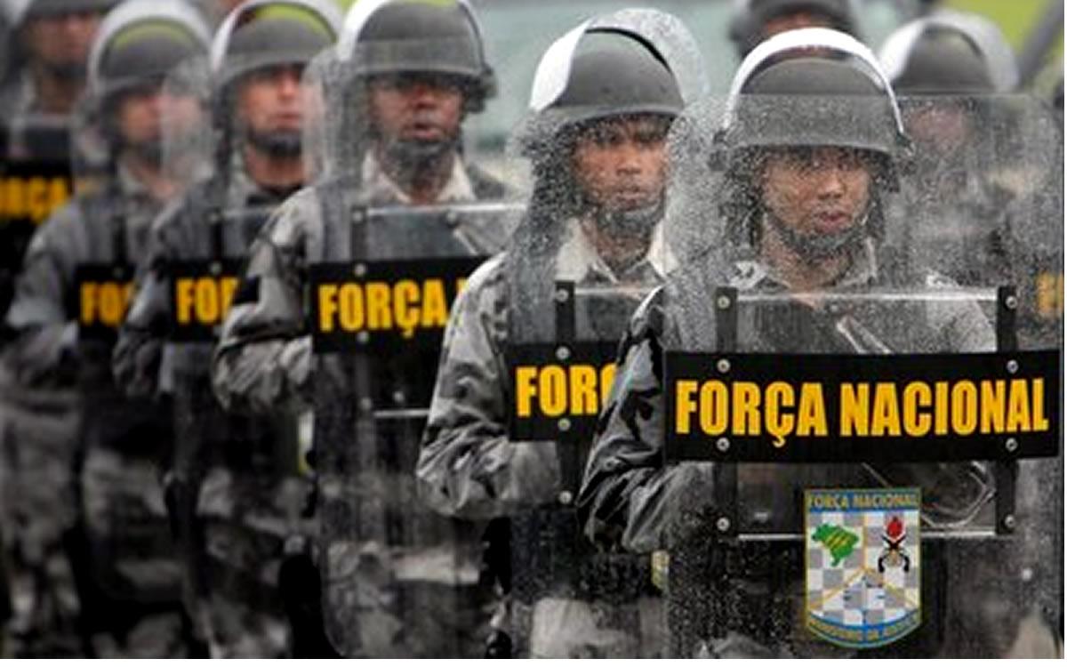 Resultado de imagem para Governos estudam ampliar efetivo da Força Nacional no RN, diz secretário